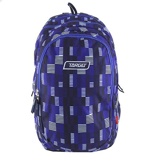 Školní batoh Target Fialový s čárkami