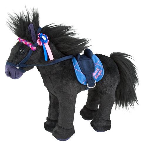 Plyšový kůň Miss Melody Black Angel