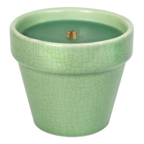 Svíčka dekorativní váza WoodWick Bylinková zahrádka, 241 g