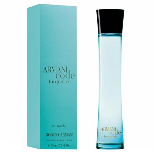 Toaletní voda pro ženy Giorgio Armani Armani Code turquoise, 75 ml