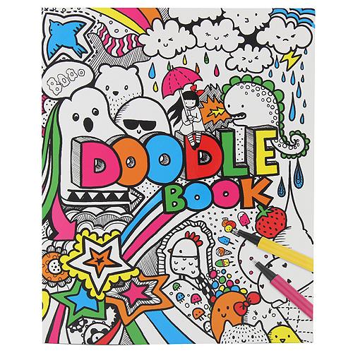 Omalovánky, kreativní sada Creative Studio Doodle Book
