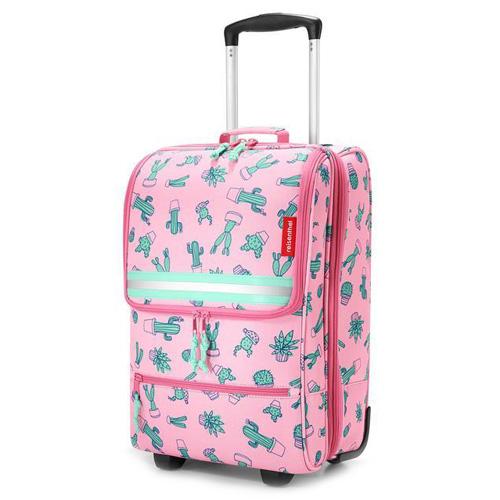 Dětský kufr trolley XS Reisenthel Kaktus, růžová
