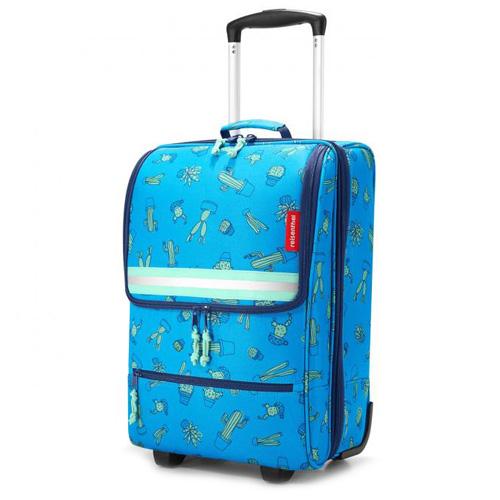Dětský kufr trolley XS Reisenthel Kaktus, modrá