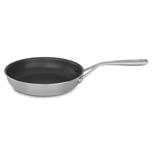 Nerezová pánev KitchenAid Hliníkové jádro, nepřilnavý povrch Teflon® Platinum Plus, 24