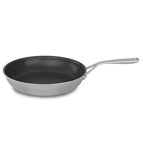 Nerezová pánev KitchenAid Hliníkové jádro, nepřilnavý povrch Teflon® Platinum Plus, 30