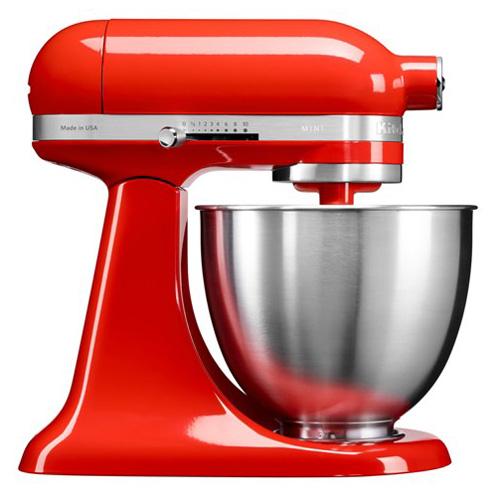 Kuchyňský robot KitchenAid 5KSM3311XEHT, Artisan Mini, 250W, chilli omáčka