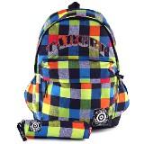 Nápaditý studentský batoh s penálem