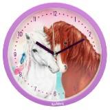 Nástěnné hodiny Miss Melody b37c03c9527