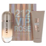 Carolina Herrera 212 VIP Rose 80ml EDP + 100ml BL