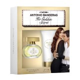 Antonio Banderas Her Golden Secr 80ml EDT+BL 75ml