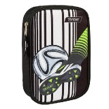 PENCIL CASE MULTY FULL FOOTBALL BLATTE 26257
