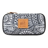 PENCIL CASE COMPACT COLLEGE LIKE ME GREY 26340
