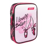 PENCIL CASE MULTY FULL I LOVE BALLET 26266