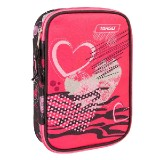 PENCIL CASE MULTY FULL WITHIN HEARTS 26268