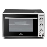 Electric oven with convection
