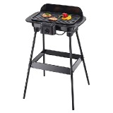 Barbecue-Grill, approx. 1600 W, with wind shield, with stand
