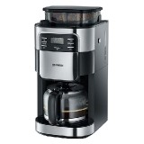 Coffee Maker with grinder, approx. 1000 W, up to 10 cups, LC