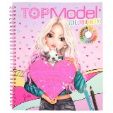 Omalovánka | Top Model Colouring Book