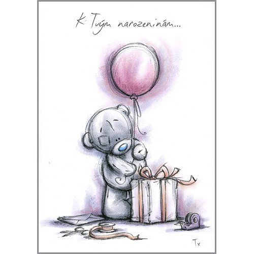 kreslené přání k narozeninám Kreslené blahopřání Me to You   Apollo Store kreslené přání k narozeninám